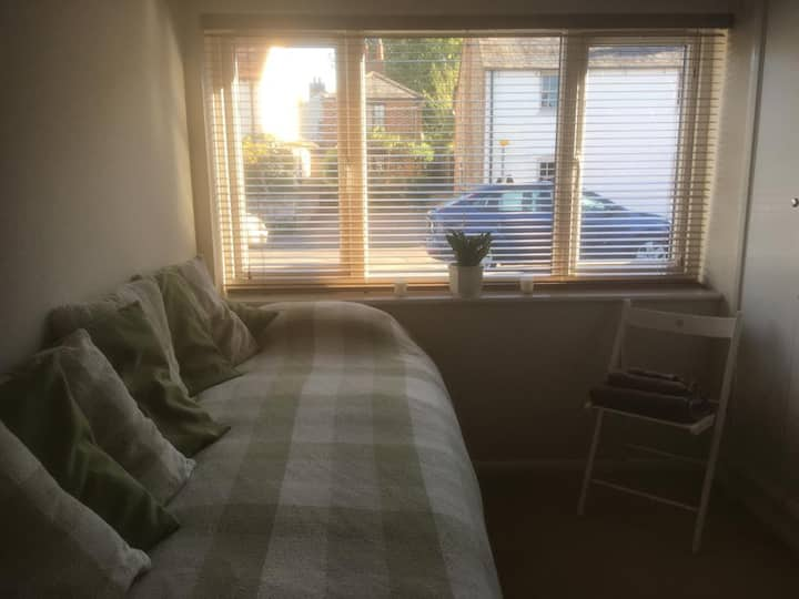 Double room in picturesque market town