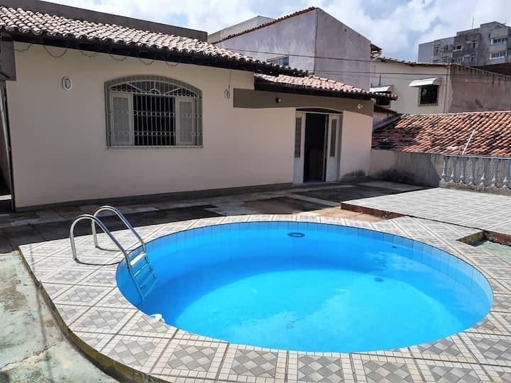 Hostel Cazumbá- Seis camas em quarto compartilhado