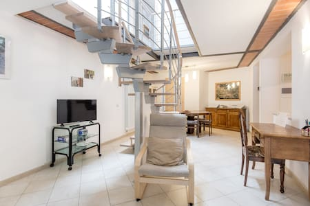 Loft with free parking and bikes - Florencia