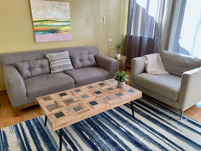 Lovely 1 BR near Stanley Park English Bay Robson