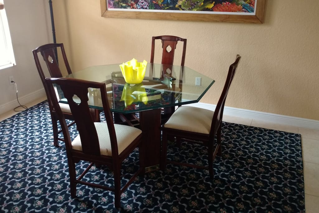 Beautiful Dining Room area