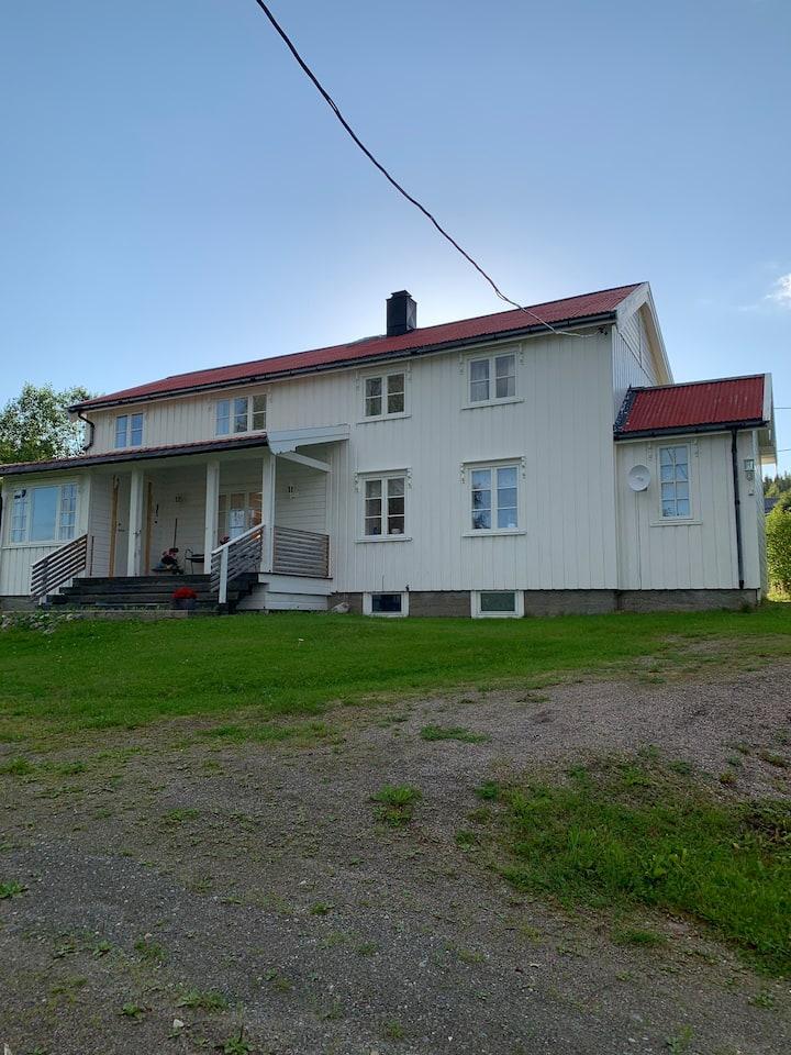 Koselig hus i retrostil