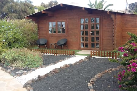 Separate Beautiful Wooden log cabin - L'Oliva