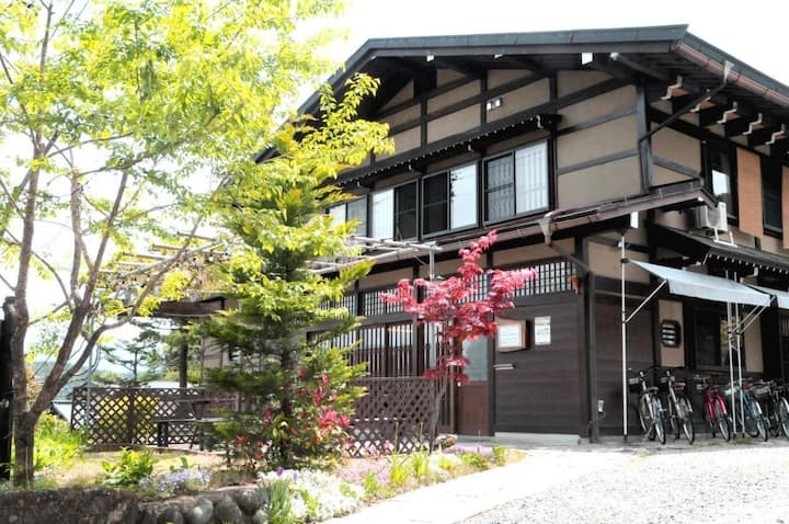 Women's ONLY Dormitory room Shirakawago & Hidatakayama sightseeing !