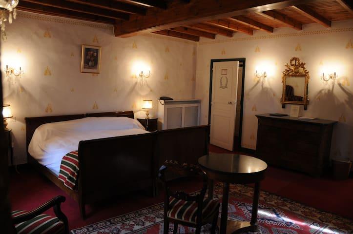 Chambre Supérieure, au Château d'Ayres - Meyrueis - Schloss