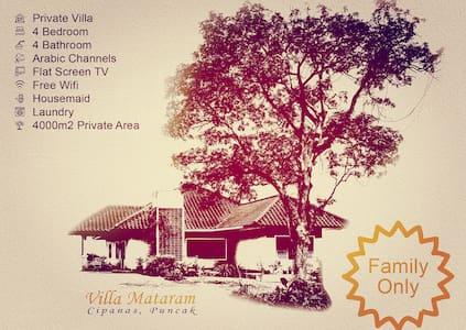 Villa Mataram - Villa