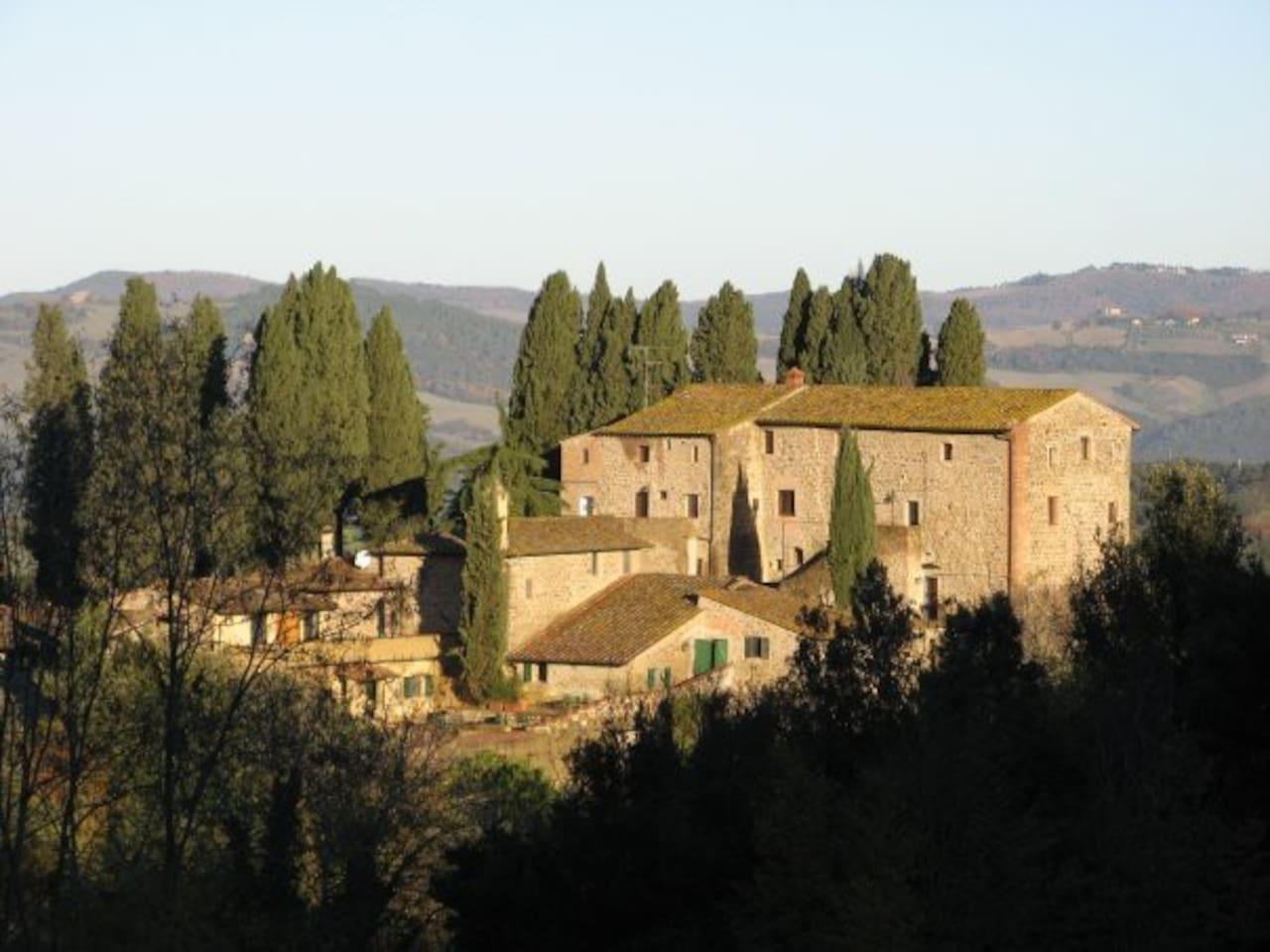 View of Farneta