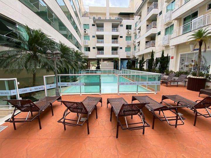 Apartamento Bombinhas Summer Beach Hotel e SPA