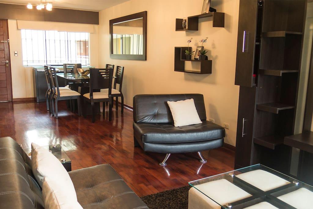 Living & Dining Room 1