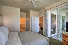 Enjoy private lanai access, a king bed, and flat-screen HD cable TV.