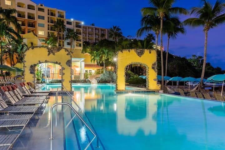 Luxurious 2 bedroom villa Marriott Frenchman Cove