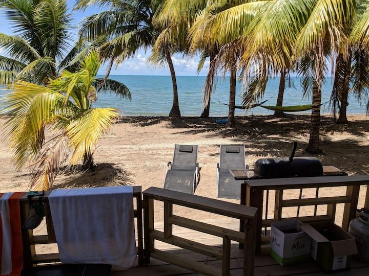 Cobia Beach Guest House. On Caribbean sea!