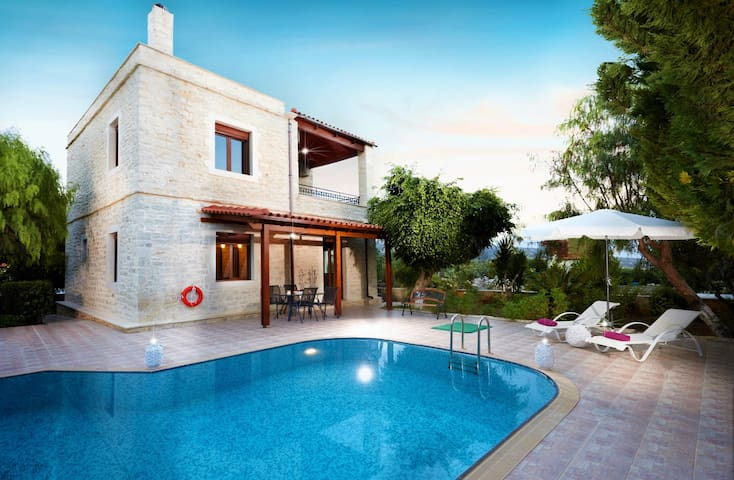 Graceful sea view villa with private pool & BBQ