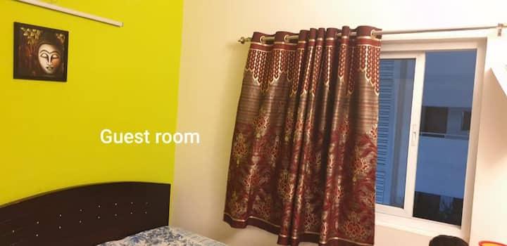 Ensured privacy & serenity single room &facilities