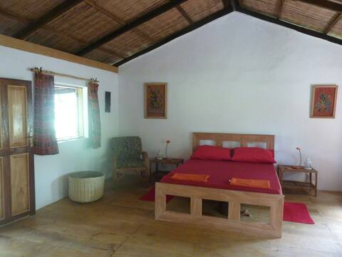 Ategbeh Garden Red Cabin