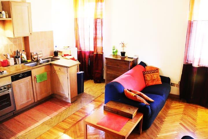 Private warm single Room w/ balcony