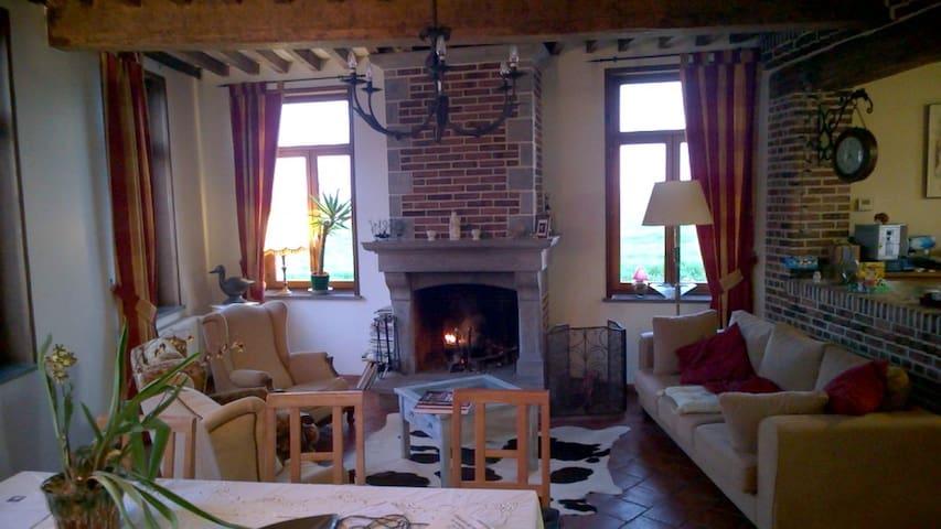 logement à la Ferme du Moulin - TROISVILLES - Rumah