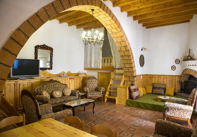 Authentic traditional Greek house