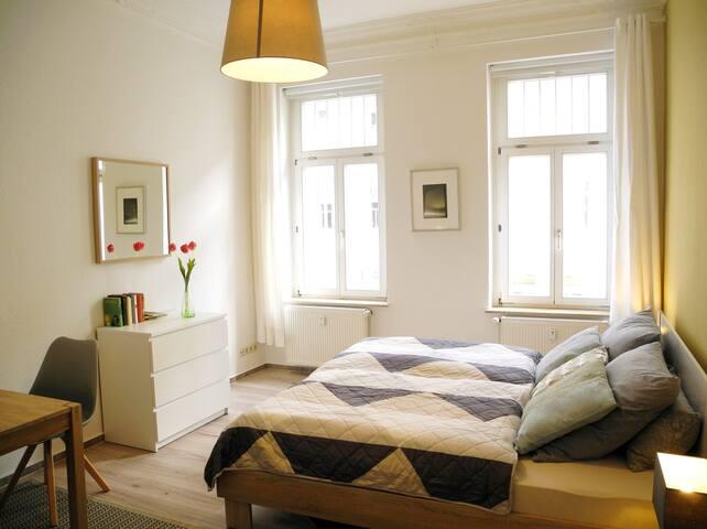 gemütliche Wohnung, in zentraler ruhiger Gegend