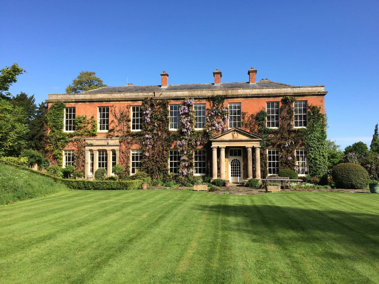 Norton Hall from the lawn