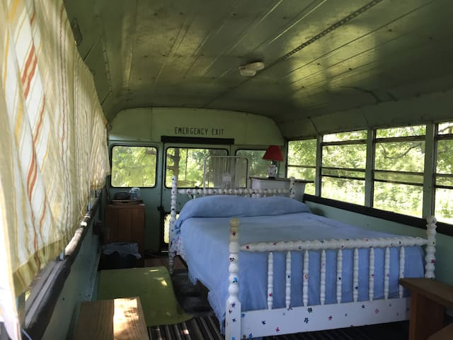 Mini-Bus on Cane Creek Farm in Saxapahaw