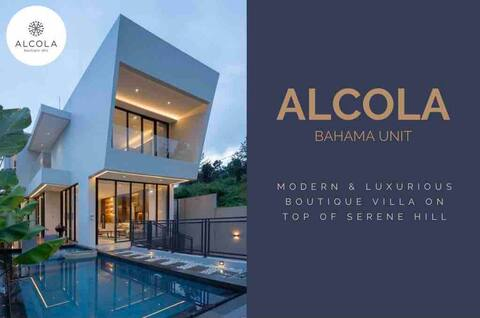 Alcola (Bahama) Villa. Modern & lux on top of hill