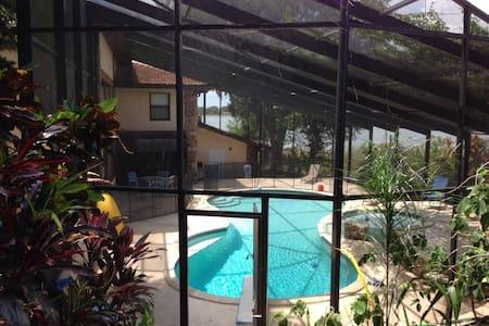 4/4 Lakefront Home with Pool & Hot Tub - Eagle Lake