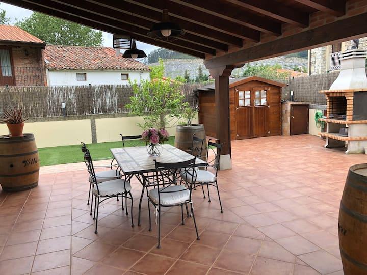 Casa en Pesués. Para disfrutar de tus vacaciones.