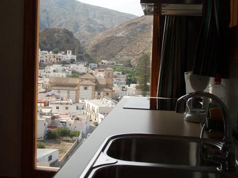 Habitación con vistas a la Alpujarra
