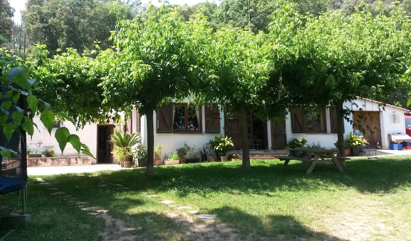 Country house in Montseny Park - Breda