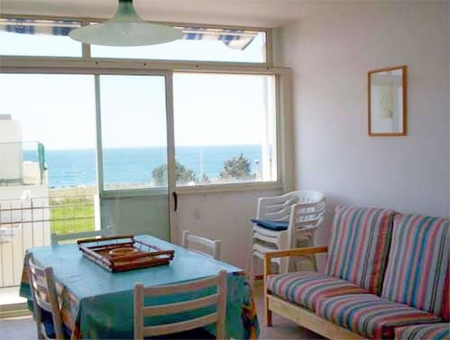 APARTMENT WITH BALCONY, SPLENDID SEA VIEW AND A/C