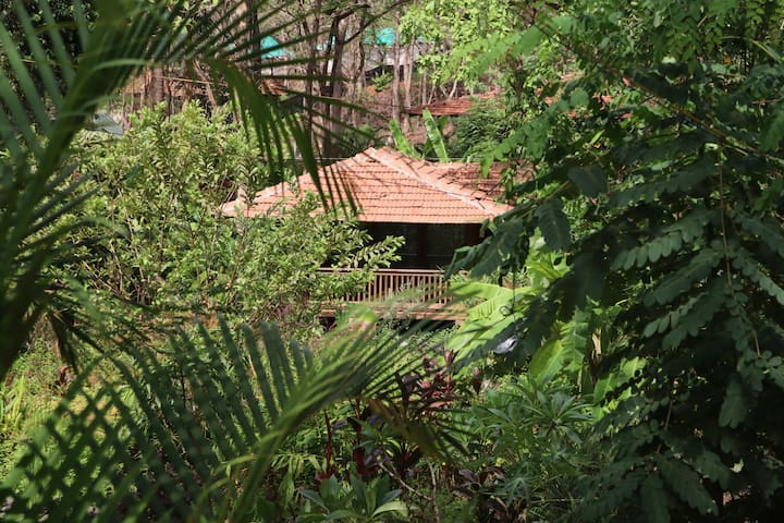 Mojigao lux cottage 4 with forest view in Assagao