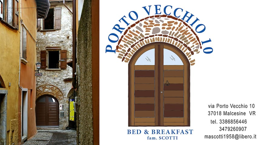 Porto Vecchio 10 Bed & Breakfast - Malcesine - Bed & Breakfast