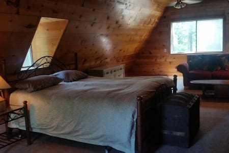 Lake Almanor Kayak House Room Rental - Canyondam