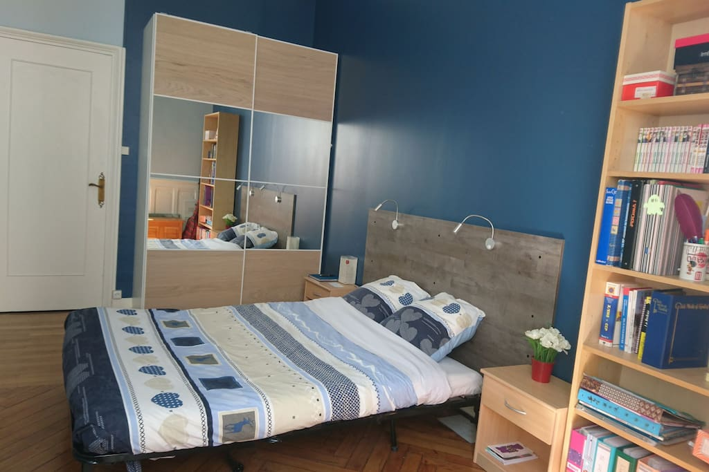 bed in saint etienne bed breakfasts for rent in saint tienne france. Black Bedroom Furniture Sets. Home Design Ideas