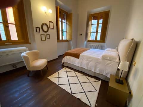 Die kleine Residenz von Borgo Fausto