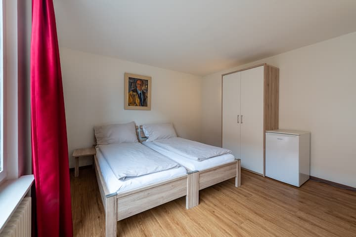 comfortable double room/1 - 2 guests