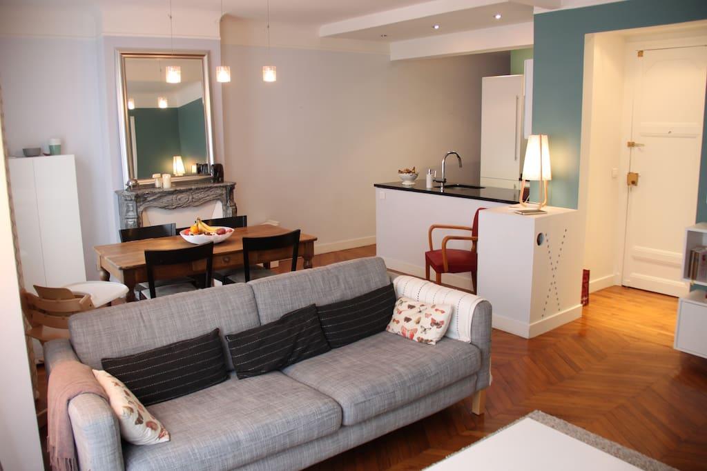 Pièce principale / Main living area