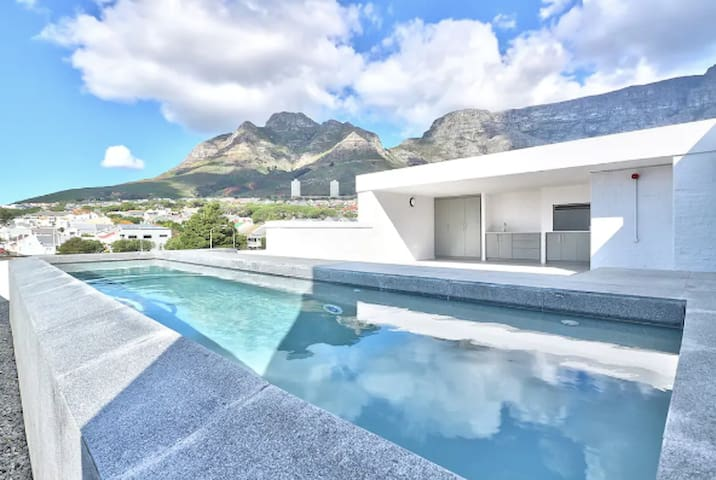 BRAND NEW! Vibey 2 Bedroom with Rooftop Pool!