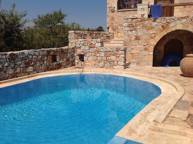 """Apartment """"Pali"""" in a traditional stone house"""