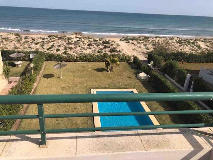 Apartamento a pie de playa en Oliva