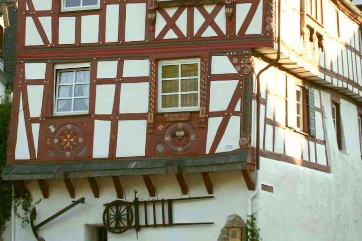 """Wohnung 1. Etage, """"Altes Fährhaus"""", Pünderich"""