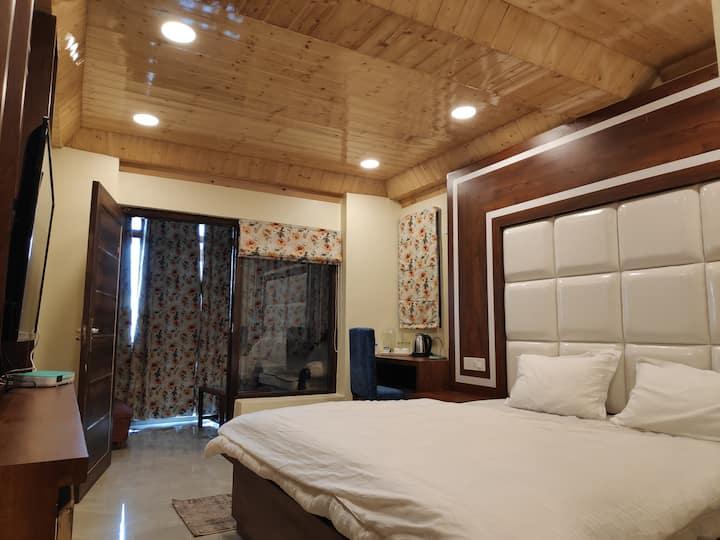 One bedroom in a cozy retreat