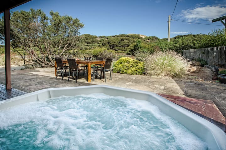 8 seat Outdoor heated Spa