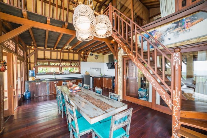 dinning lounge villa payung