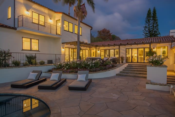 Relax, Seek, Indulge, Renew at our Luxury Estate - Montecito