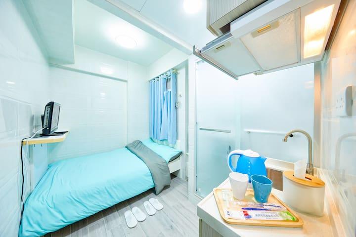 Mong Kok旺角西洋菜南街舒適2人房 B