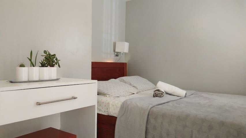 Bedroom 1 has coated memory foam mattress for your comfort.