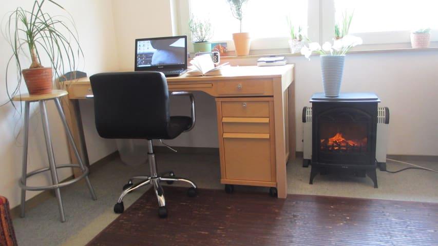 airbnb-Unterkunft mit echter Luftmatratze