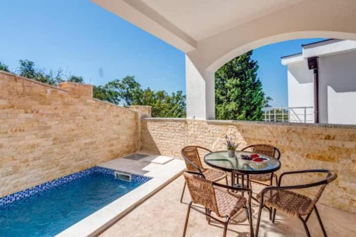 Spacious and Bright Villa Hanna with Private Pool